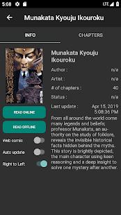 App Mandrasoft Manga Reader APK for Windows Phone