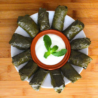 Recipe of Dolma (Yarpaq Dolmasi)