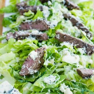 Steak Blue Cheese Caesar Salad