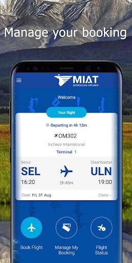 MIAT Mongolian Airlines screenshot 4