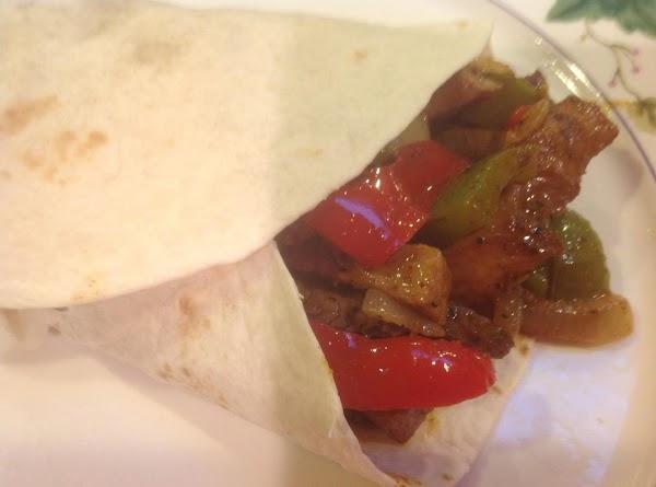 Beef & Pork Fajitas [remix] Recipe