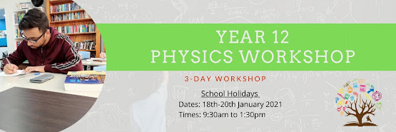 Year 12 Physics Workshop (3-day workshop)