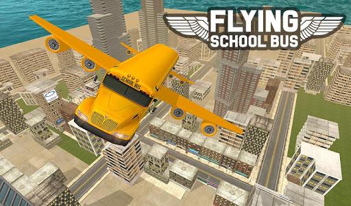 Flying School Bus Sim 2017 1.0.3 screenshots 13