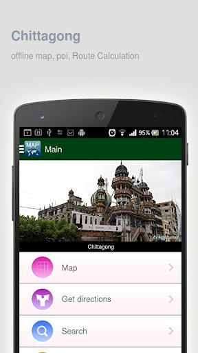 Chittagong Map offline