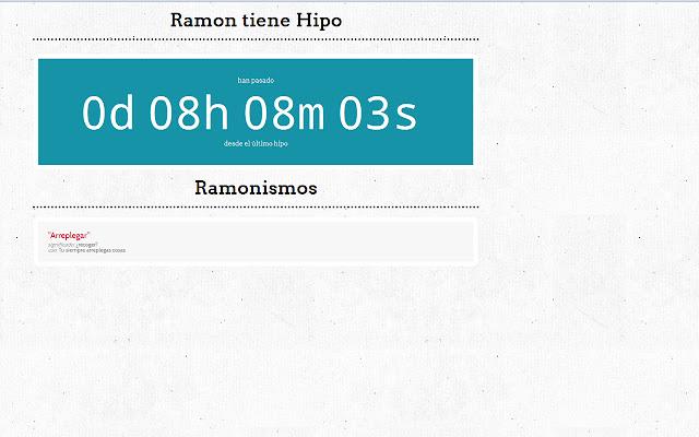 Ramon Tiene Mucho Hipo