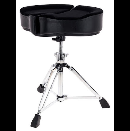 Ahead Spinal G Drum Throne Black - SPG-BL3