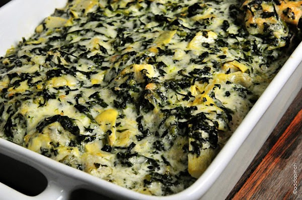 One Great Spinach Casserole Recipe