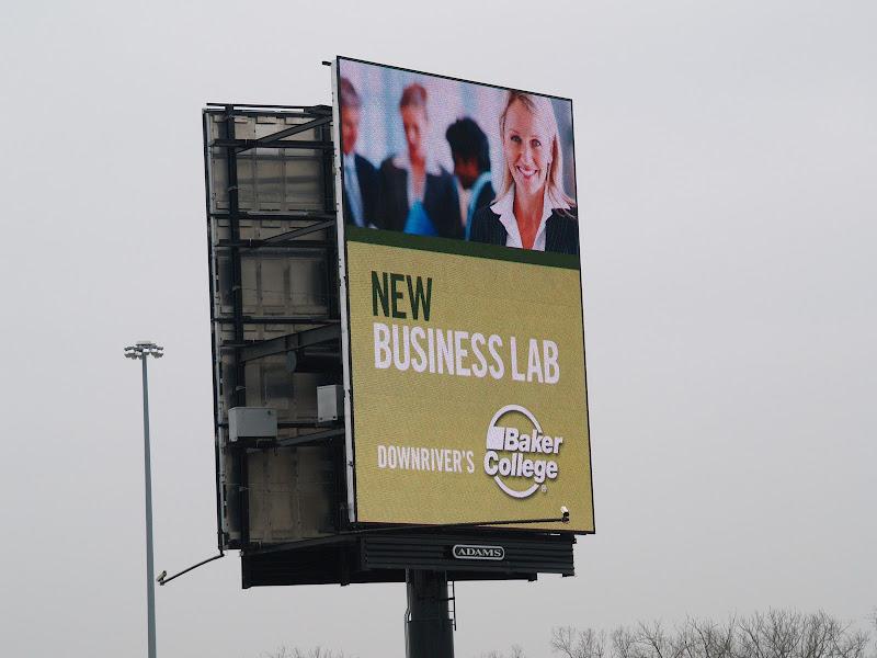 Photo: Digital billboards at Allen Park
