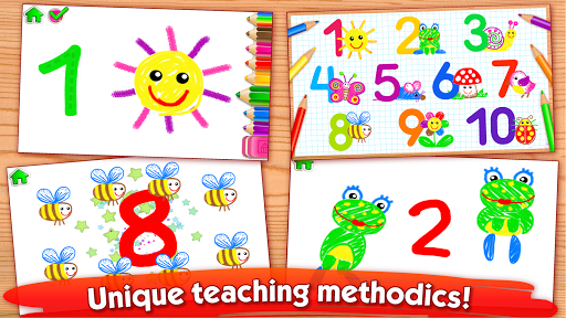 123 Drawud83cudfa8 Toddler counting for kids Drawing games 1.0.2.5 screenshots 2