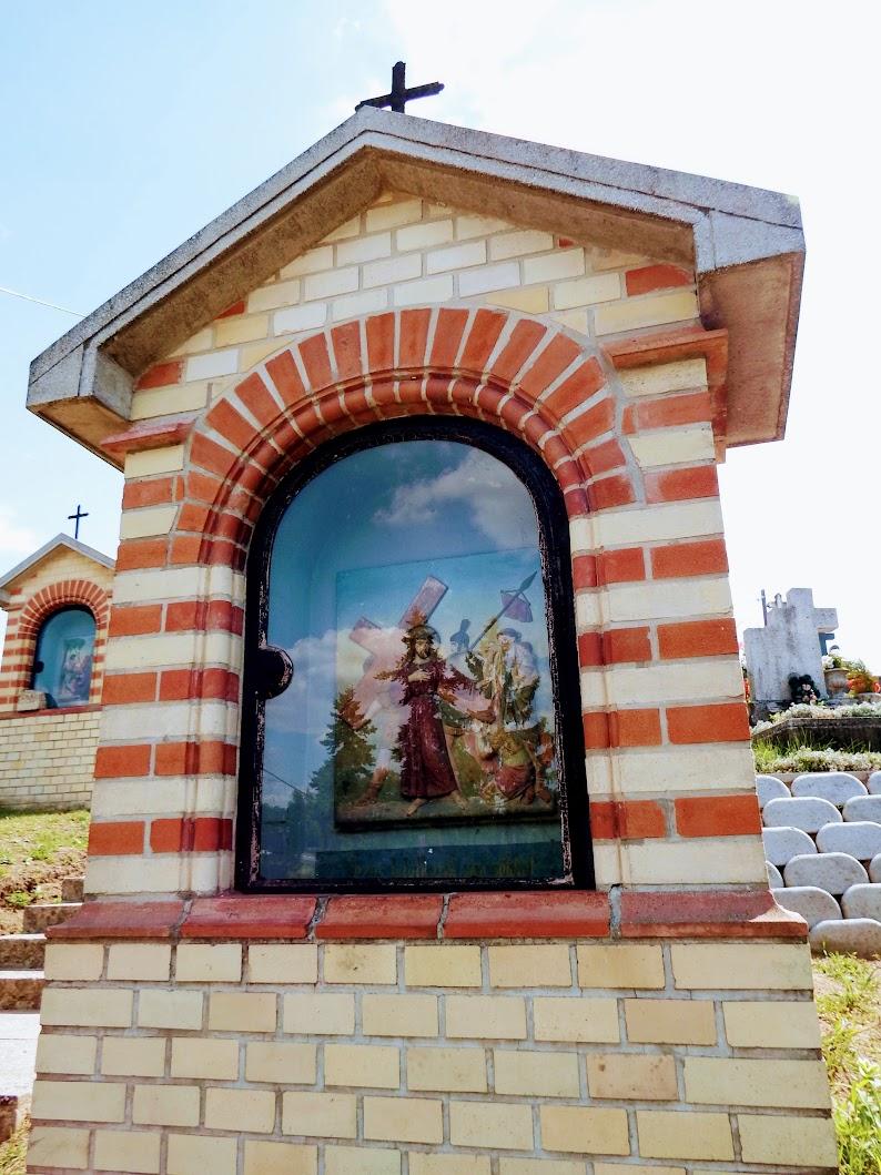 Mogyoród - Stációs keresztút a temetőben, kálvária