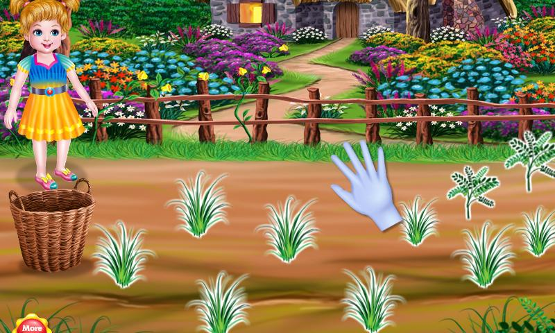 Little Girl Gardening- screenshot