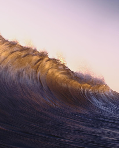 Surfing Photographer Captures the Timeless Beauty of Cresting Ocean Waves