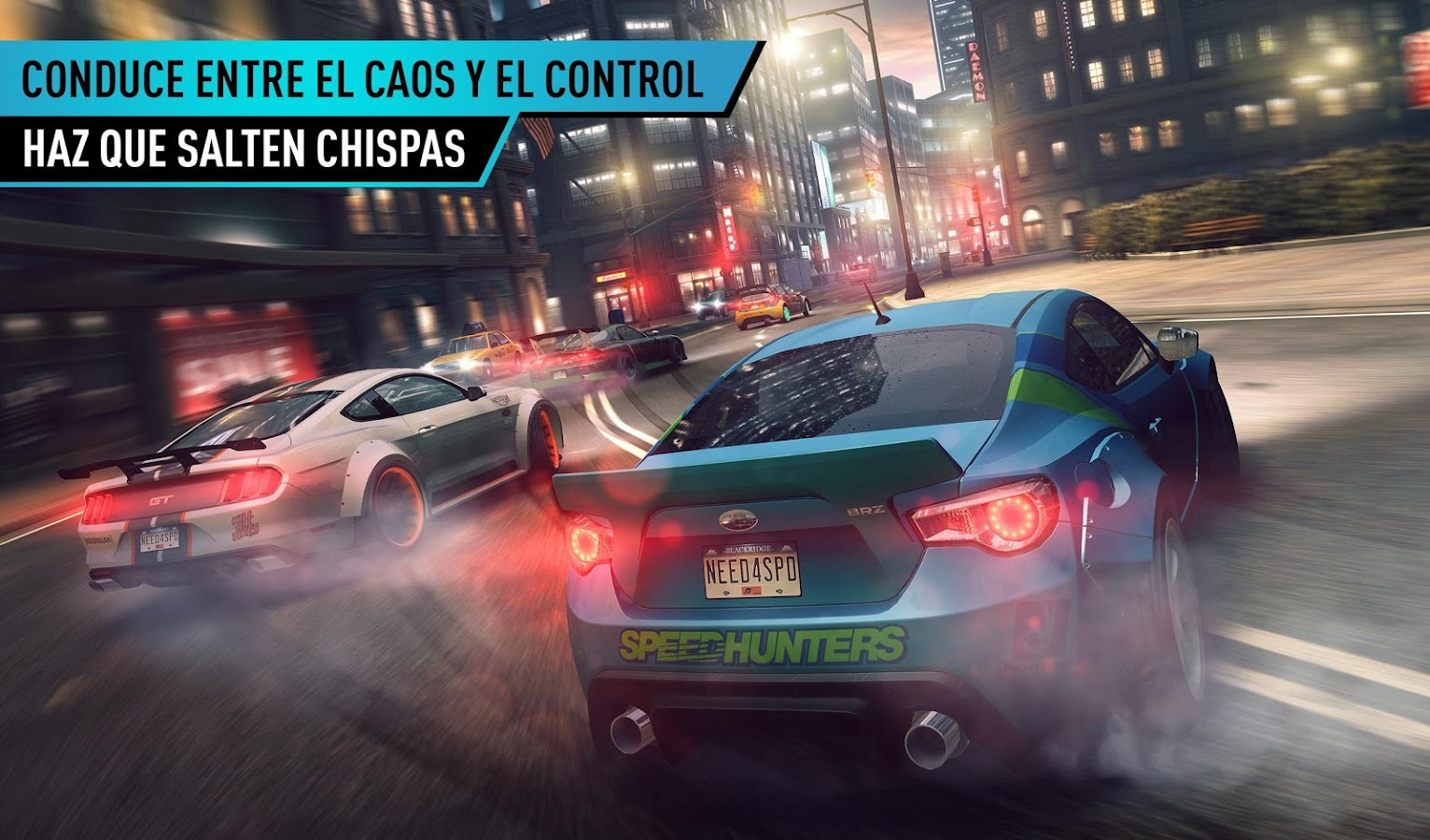 Need for Speed™ No Limits: captura de pantalla