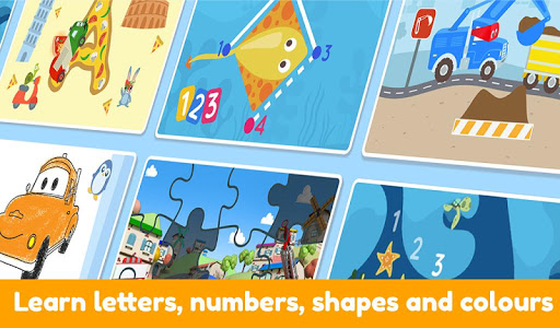 Car City World: Little Kids Play Watch TV & Learn 1.2.0 screenshots 6