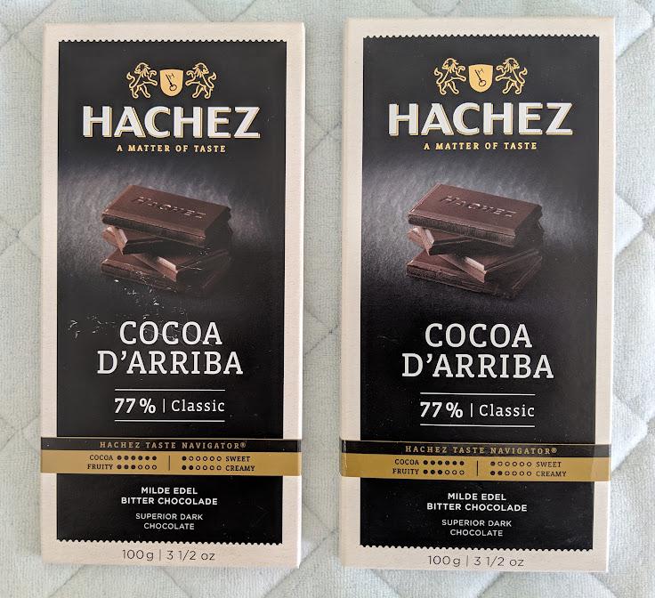 77% D'Arriba Hachez Bar