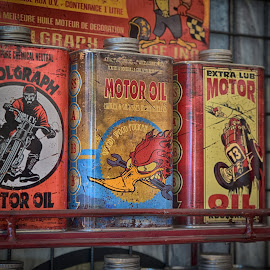 Motor Oil by Marco Bertamé - Artistic Objects Other Objects