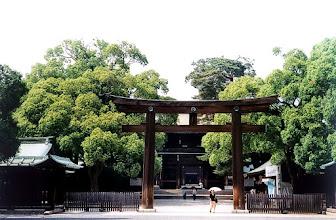 Photo: Tokio - świątynia Meiji-jingu / Tokyo - Meiji-jinga temple