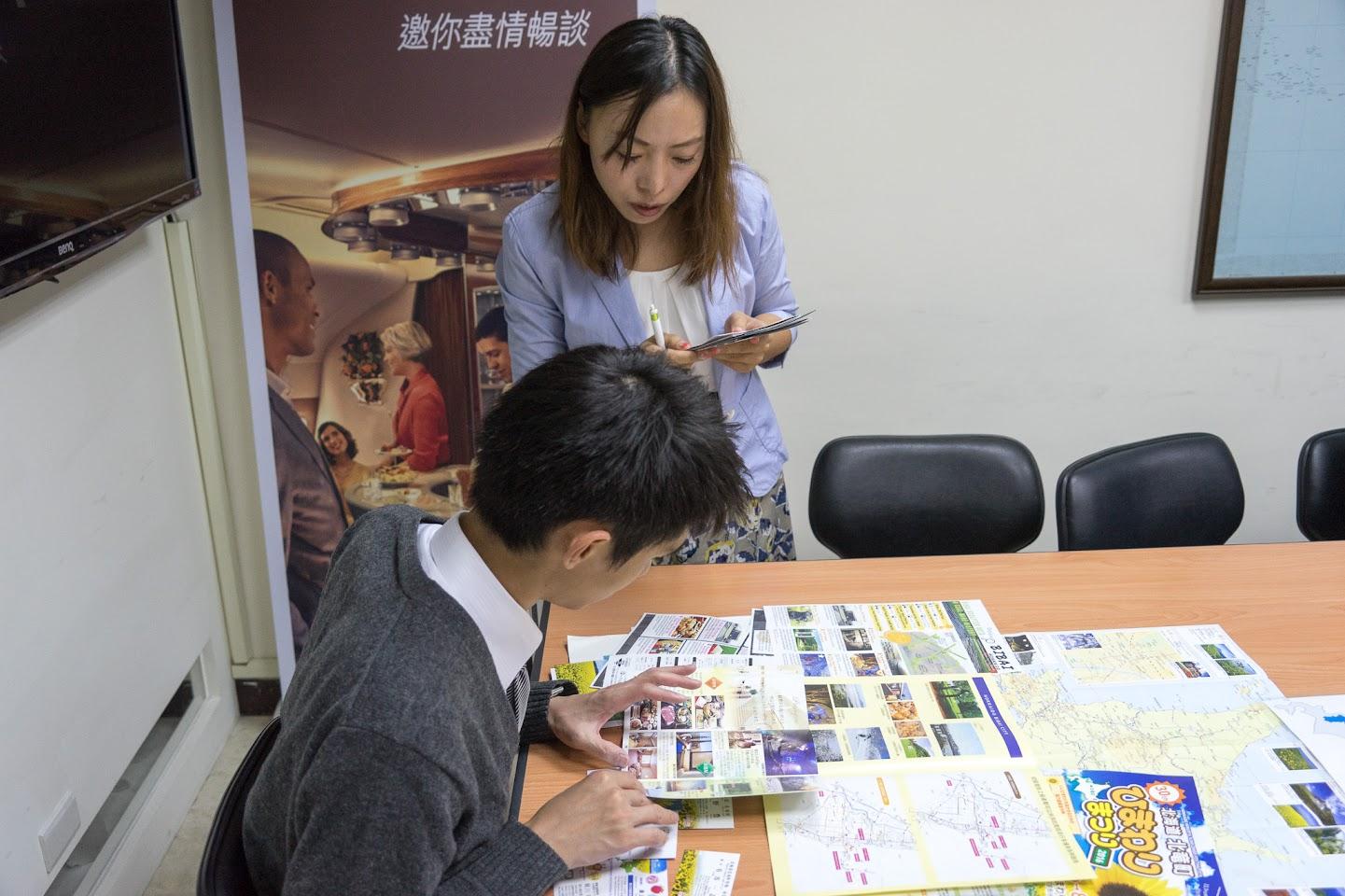 (株)アンビックス 海外事業部インバウンドセンター・段娜氏