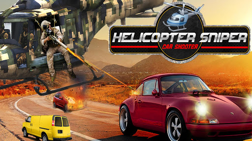 Helicopter Sniper Car Shooter