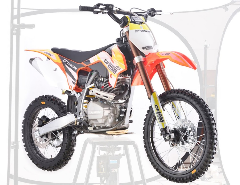 "250cc CF Crossfire Xmoto Dirt Bike 21"" front 19"" rear Large Wheel"