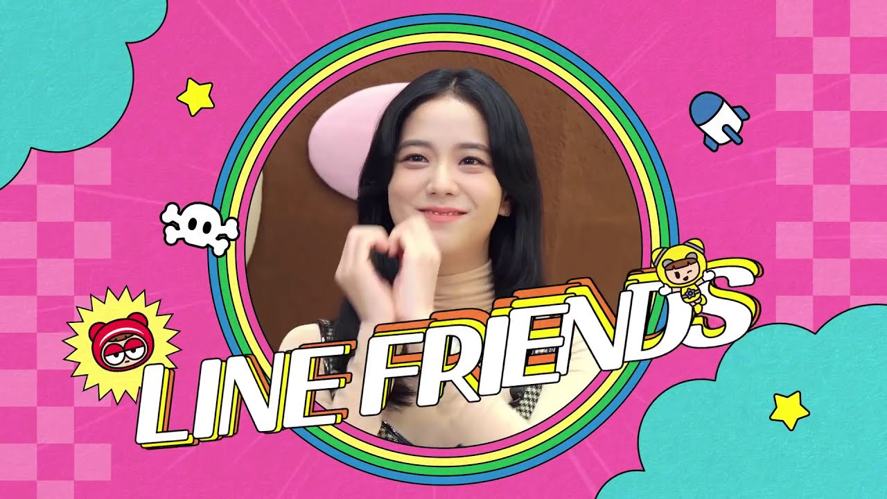 jisoo line friends
