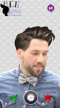 Men Hairstyles Photo Montage 3.0 screenshot 771481