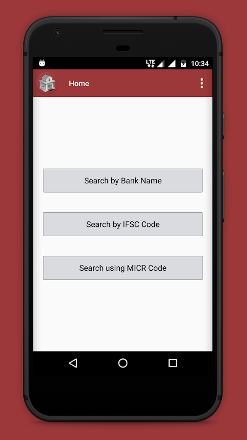 Bank IFSC MICR STD ISD Code- screenshot
