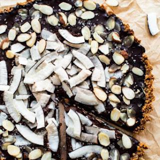 Chocolate Coconut Almond Tart (GF).