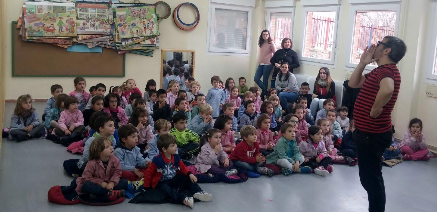 mago para colegios educación infantil 2017 madrid