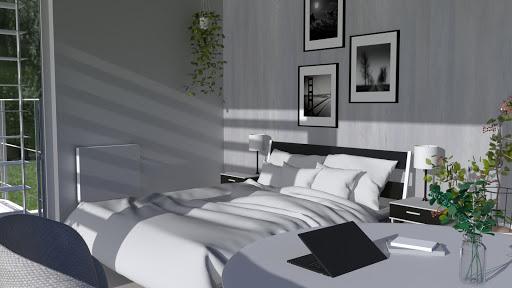 Vue chambre d hotel