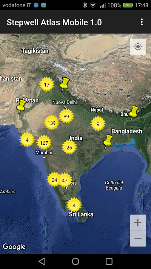 Stepwell Atlas Mobile- screenshot