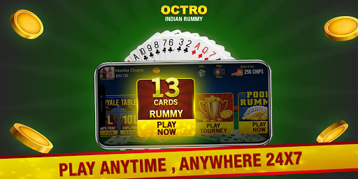 Indian Rummy (13 & 21 Cards) by Octro screenshots 1