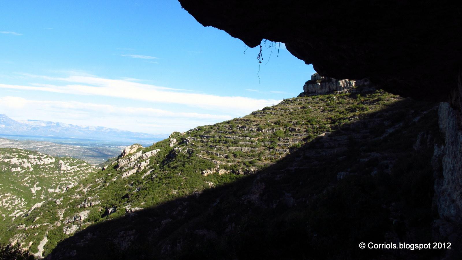 Photo: Visió des de les Coves del Pare Pascual