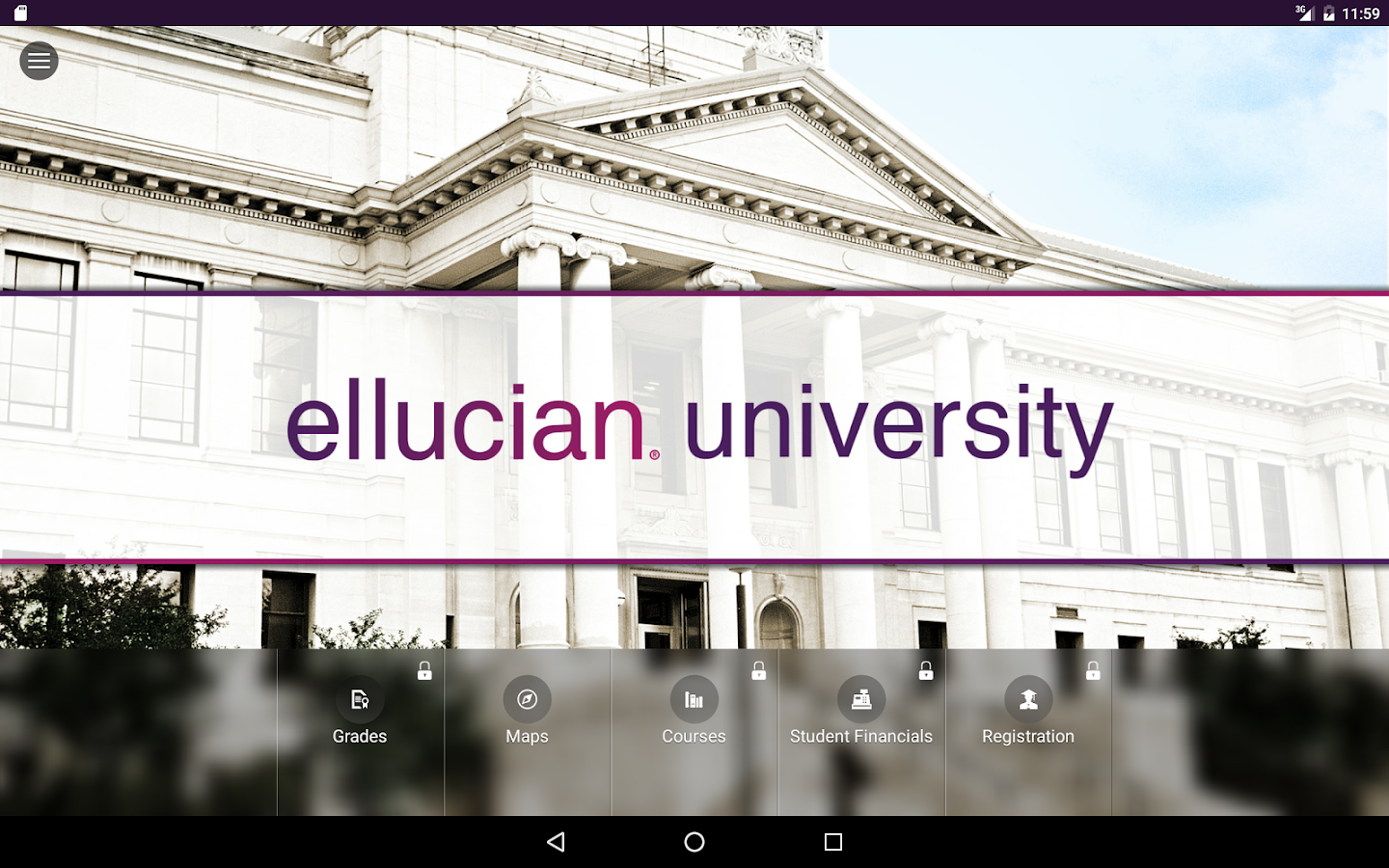 Ellucian GO- screenshot
