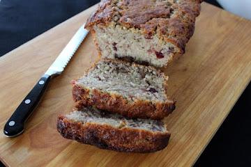 Cranberry Banana Tea Loaf Recipe