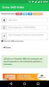 SMS GRÁTIS - TORPEDOS GRÁTIS screenshot 0