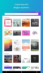 Canva: Poster, banner, card maker & graphic design APK screenshot thumbnail 9