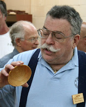 Photo: Elliot Schantz showing a small cedar bowl