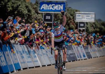 Wereldkampioene is de beste in openingsrit Ronde van Californië