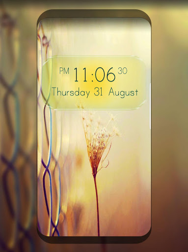 digital clock live wallpaper screenshot 2