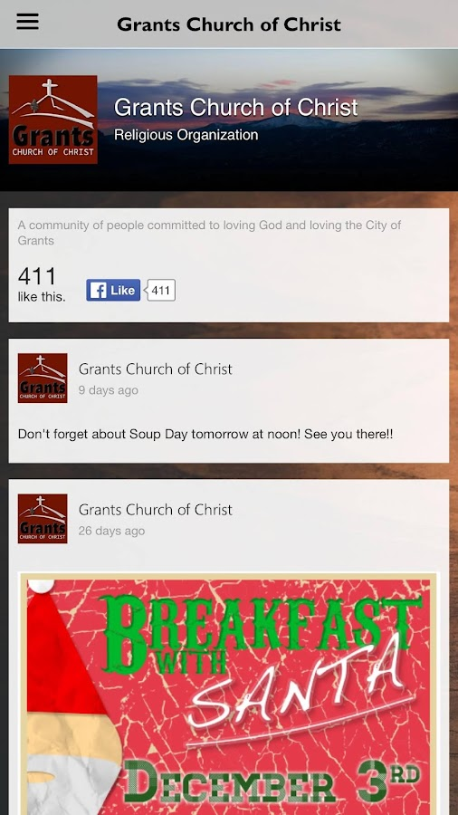 Grants Church of Christ- screenshot