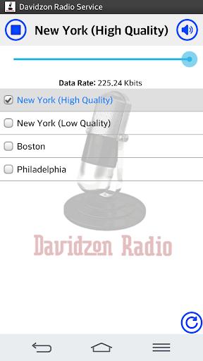 Davidzon Radio 1.10 screenshots 1