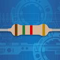 Resistor color code calculator icon