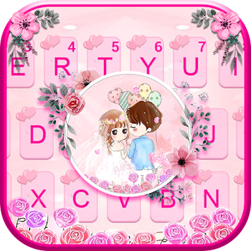 Merry Happily Keyboard Theme