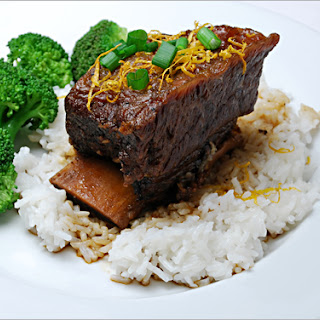 Oven-braised Asian Short Ribs