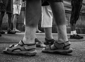 Photo: WHITE SOCKS - to wear or not to wear that is the question. two pair of white socks. one in the front and one in the back ;-))  #StreetPics  #street #streettogs #streetphotography #shootthestreet #blackandwhite #blackandwhitephotography #bw #monochrome  #monochromeartyclub #monochromephotography   Shoes Monday ~ #shoesmonday  Curator(s): +Laura Harding +Bernd Schaefers +Terry Fabre +Olga Kafka G+ Page:  +Shoes Monday