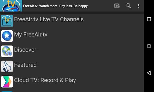 FreeAir.tv: Watch, Pause, Record Live TV anywhere 3.12.01 screenshots 9