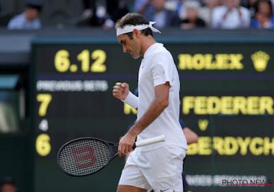 Almachtige Federer naar finale Wimbledon