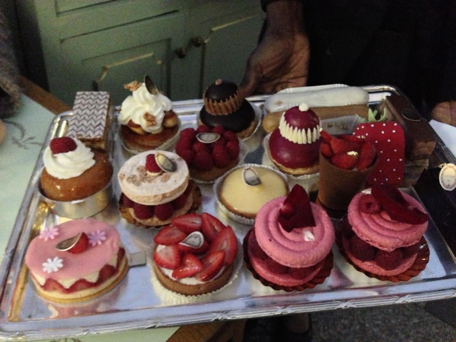 Dessert at Laduree, Paris
