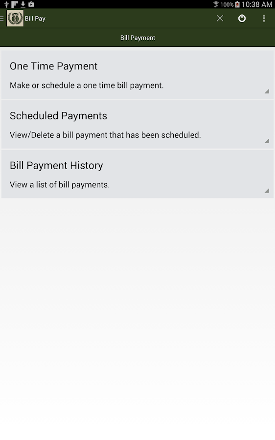 Belgrade State Bank Mobile- screenshot